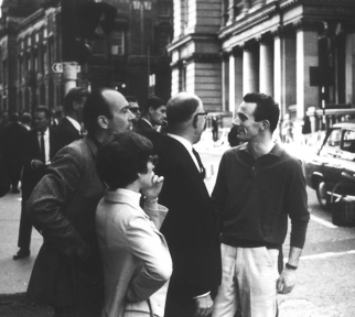 In Birmingham with Jan Krenz and Adolph Borsdorf, July 1967